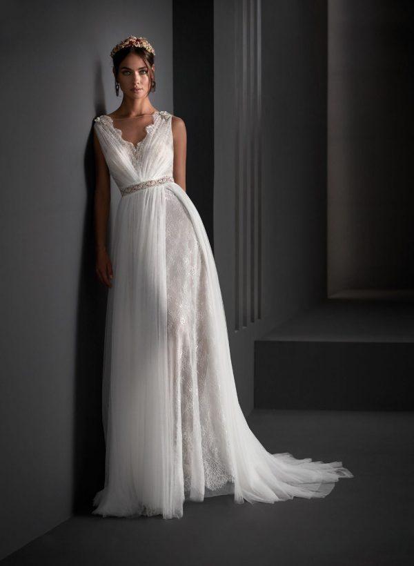 Vestido de novia Manú García Olimpia Frontal