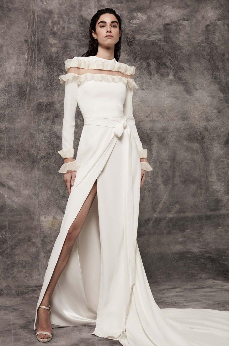 Vestido de Novia Victoria Antonela Frontal